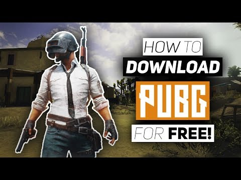 How To Download PUBG On PC For Free! - Download PlayerUnknown's Battlegrounds!