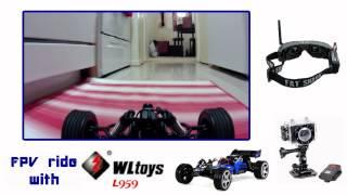 WL Toys L959 FPV ride