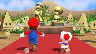 Mario Party 9 Step It Up - Mario vs Luigi vs Peach vs Toad