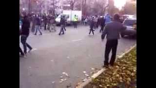 Бирюлёво - Переворот Газели, Погромы и разбой