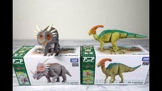 アニアアニマルアドベンチャー恐竜スティラコサウルス パラサウロロフス 子供向/ania Animal Adventure Dinosaur Styracosaurus Parasaurolophus