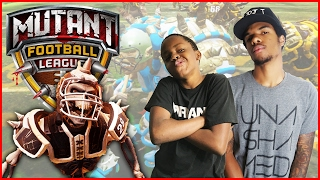 FOOTBALL WITH CHAINSAWS AND FIREBALLS! - Mutant Football League Gameplay