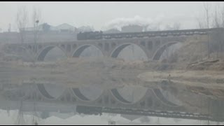 preview picture of video '[China Steam Locomotive C2]Xingyang Brickworks Railway 河南省建材工場のナロー蒸機(2/3)'