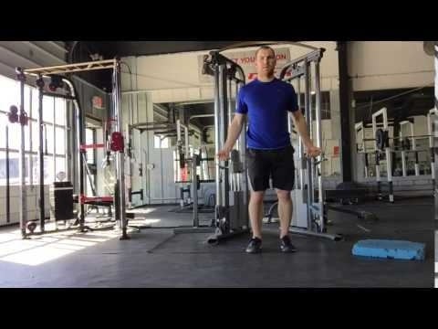 Low to High Cable Chest Fly