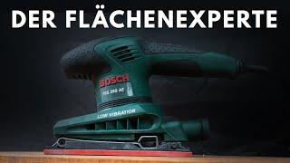 Bosch PSS 250AE - was bringt ein Schwingschleifer überhaupt ?