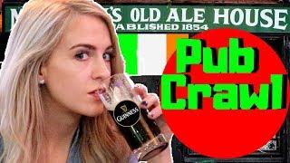 """Irish Girl Tries """"IRISH"""" Pubs in New York"""