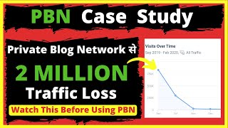 Watch This Video Before Using Private Blog Network (PBN) | Private Blog Network Case Study