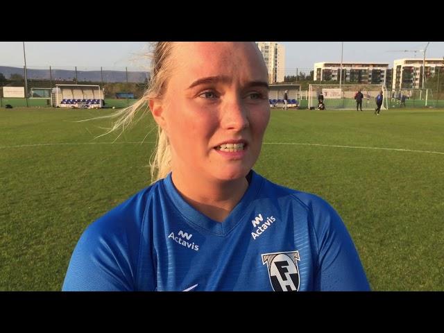 Erna Guðrún: Þetta var bara ekki okkar dagur í dag
