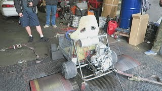 The Shopping Go Kart Gets Dyno Tuned!