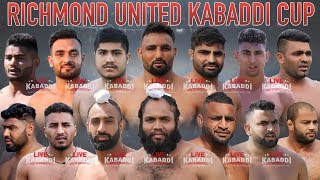 LIVE KABADDI - Richmond United Kabaddi Cup 2018