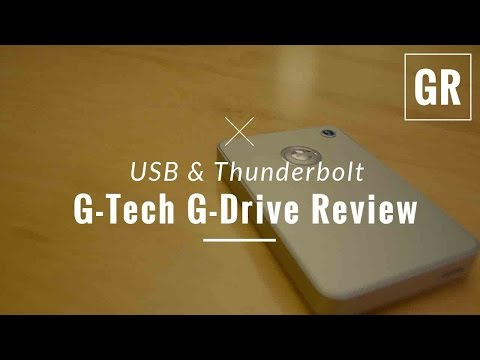 G-Tech G-Drive Mobile USB 3.0 Hard Drive Review – Gadget Review