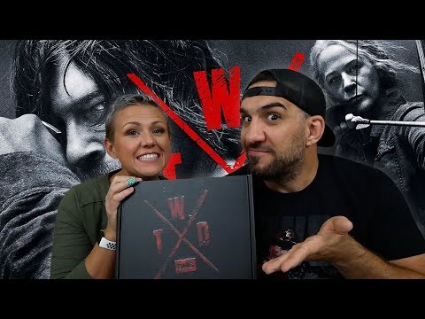 The Walking Dead Supply Drop 'X Edition' UNBOXING!!