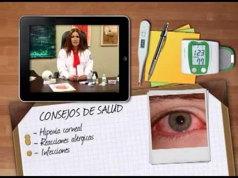 Salud - Riesgos al abusar del uso continuo de lentes de contacto