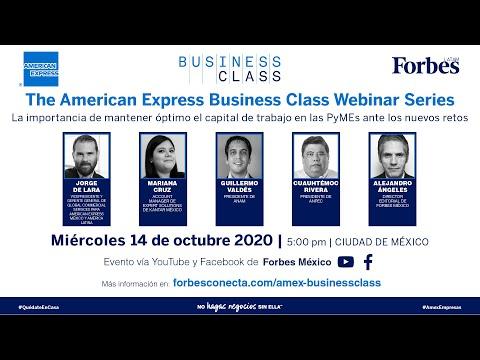 , title : 'El capital del trabajo y las pymes ante la 'nueva normalidad' | AMEX Business Class'