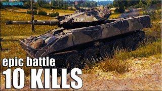 ИГРА ЗА ВСЮ КОМАНДУ 🌟 XM551 Sheridan лучший бой World of Tanks