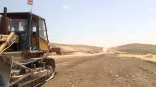 Kurdistan Turkey oil pipe line under construction 1 June 20