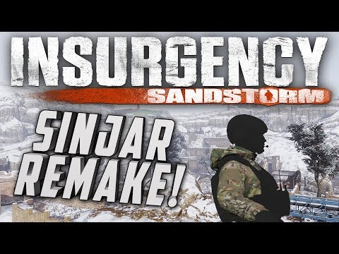 Insurgency: Sandstorm - Sinjar Snow Map First Look   Night Maps   MOD TOOLS?!