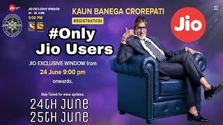 KBC registration lines again open only for Jio users