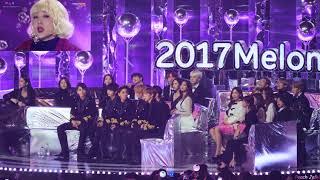 171202 방탄소년단(BTS)   Reaction (56 Min.) Fancam  2017 MMA By Peach Jelly