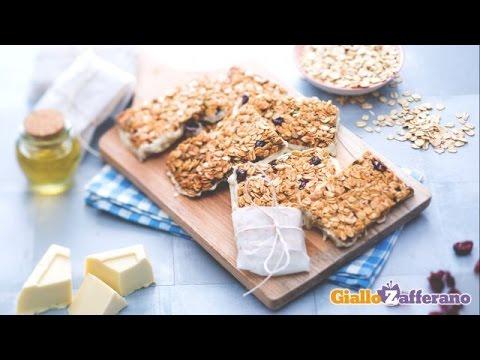 Barrette snack di frutta e cereali