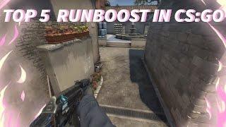 Top 5 runboost in cs:go | Топ 5 ранбустов в кс