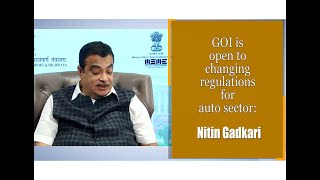 GOI is open to changing regulations for auto sector: Nitin Gadkari  IMAGES, GIF, ANIMATED GIF, WALLPAPER, STICKER FOR WHATSAPP & FACEBOOK