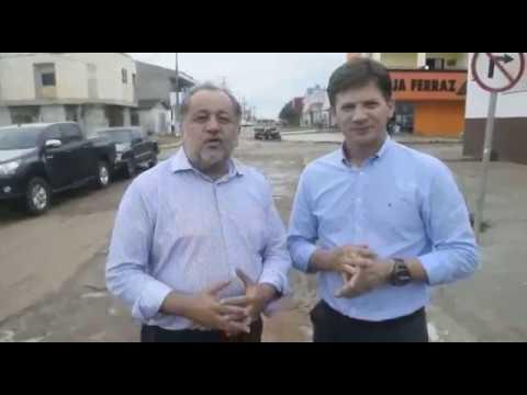 Prefeito Carlos Borges e Deputado Luiz Claudio