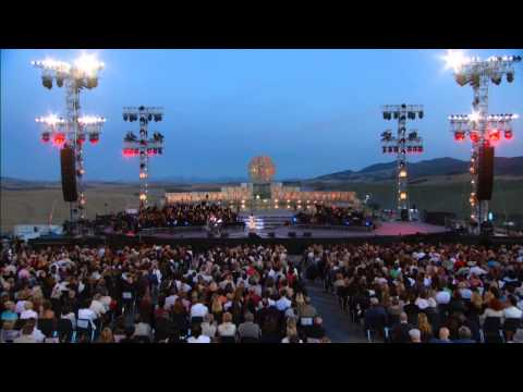 Andrea Bocelli - Vivo per lei (duet with Heather Headley)Live HD - HDGoodMusic - 4 novembre 2012