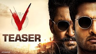 Watch #VTheMovie Teaser Starring Nani, Sudheer Babu, Nivetha Thomas, Aditi Rao Hydari Directed By Mohan Krishna Indraganti.  #VTeaser #VTheMovie  Movie Name - V  Cast - Nani, Sudheer Babu, Nivetha Thomas and Aditi Rao Hydari.   Director -  Mohana krishna Indraganti   Producers - Raju, Shirish, Harshith Reddy  Music - Amit Trivedi  BGM - Thaman S  DOP - P G Vinda  Editor - Marthand K Venkatesh   Full Telugu Movies - https://goo.gl/buaJpf  Follow us on:  Twitter: https://twitter.com/SVC_official Facebook: https://www.facebook.com/DilRajuOfficial YouTube: http://goo.gl/dwcKmr