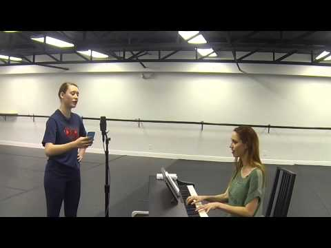 A snippet of a vocal lesson I taught for the Interactive Academy of the Performing Arts.