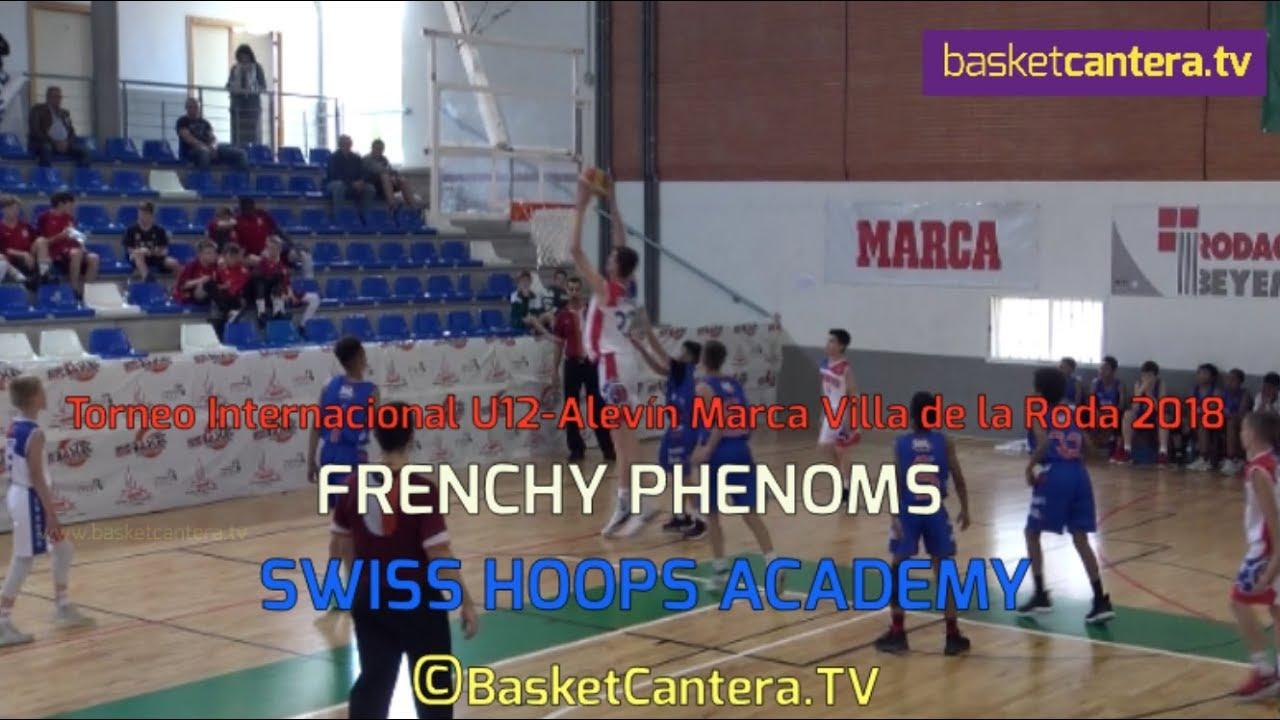 U12M - FRENCHY PHENOMS vs SWISS HOOPS ACADEMY.- Torneo La Roda (BasketCantera.TV)