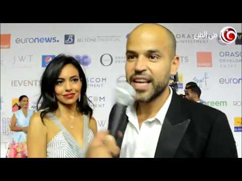 أبو يوجه رسالة لمحمد صلاح من مهرجان الجونة السينمائي