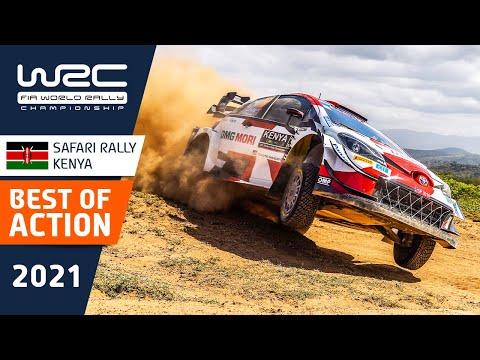 WRC 2021 WRC第6戦ラリー・ケニアのハイライト動画