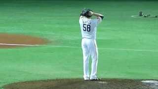 福岡ソフトバンクホークスデニス・サファテ祈り&投球フォーム