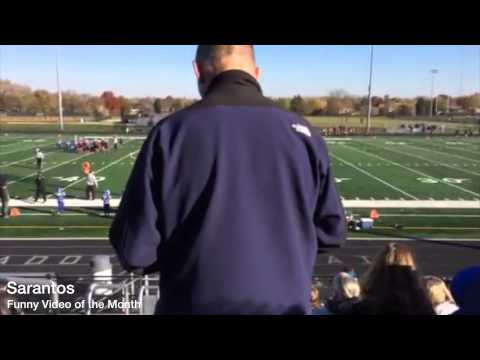 Football game rude parent in stands 12-2013 Sarantos solo music artist Funny Video of the month