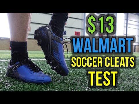 TESTING $13 WALMART SOCCER CLEATS