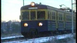 preview picture of video 'Odjazd ostatniego pociągu ze stacji Jastrzębie Zdrój'