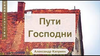 Пути Господни (Свидетельство о гонениях) Александр Каприян