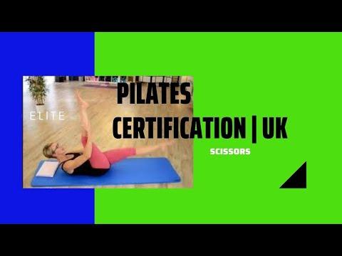 Pilates Certification Course UK | Scissors - YouTube