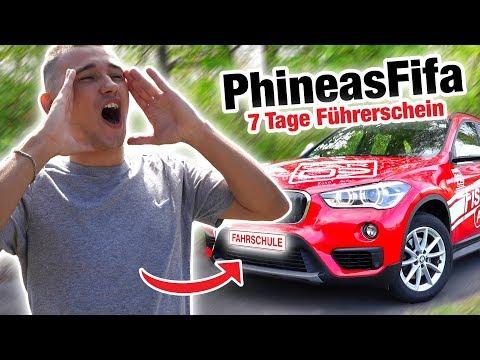 Führerschein in 7 Tagen mit PhineasFifa ⚽️ | Fischer Academy