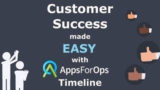 Vidéo de AppsForOps Timeline