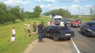 На Костромском шоссе произошло крупное ДТП