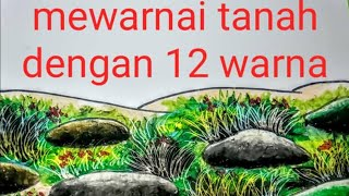 Cara Mewarnai Tanah Gradasi Dengan Crayon मफत ऑनलइन