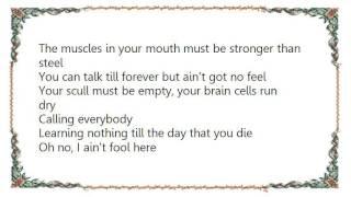 Chris Rea - I Ain't the Fool Lyrics