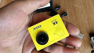 Не дорогая экшн-камера Екен с Banggood.