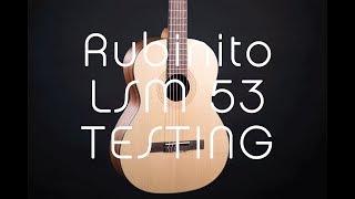 Rubinito LSM 53 testing
