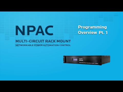 NPAC Programming: Basic Operation and Zone Setup (2/3)
