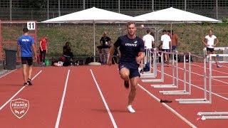 Berlin 2018 : Un entraînement avec les décathloniens
