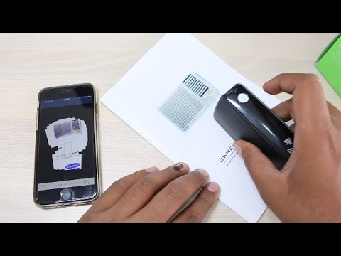 Pocket Scan – World's smallest wireless scanner by TectoTron