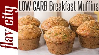 Epic Low Carb Breakfast Muffins For The Keto Diet - Only 3g Carbs